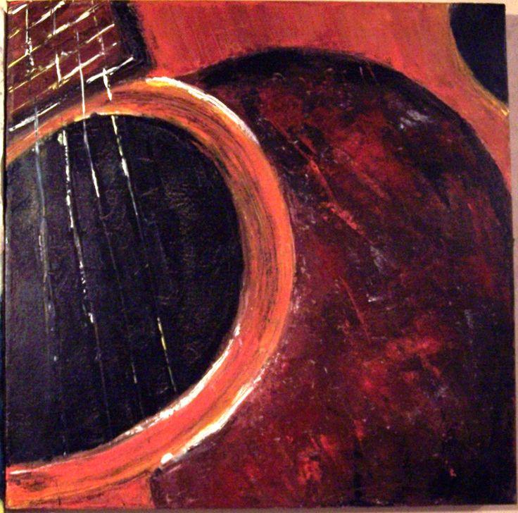Guitar Spain, by Geraldine Nesbitt
