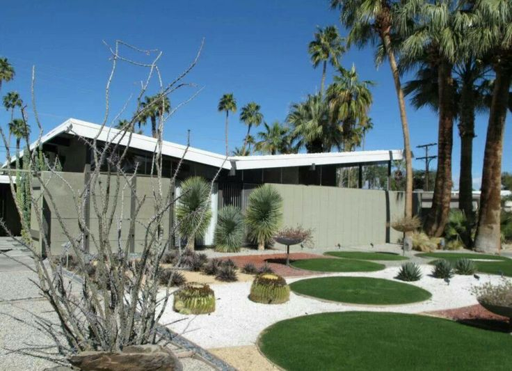 Mid Century Modern Homes Landscaping 18 best palm springs mid century landscaping images on pinterest