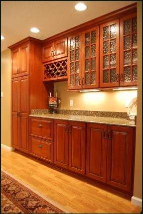 44 best the bar images on pinterest bar tops copper bar and cherry cabinets with wine rack and flemish glass doors eventshaper