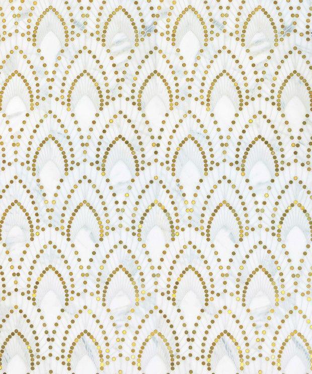 La Collection Atelier signée BlazysGérard #artdeco #gold #marble #interior #graphic