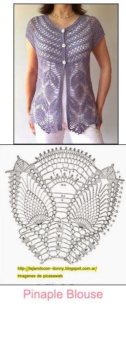 pinaple blouse