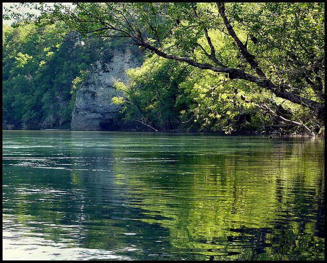 Tahlequah, OK - The Illinois River.     I grew up visiting this river at least 3 times a summer. My husband and I now take our children every chance we get. It is beautiful in Tahlequah, the water is clear and cool and the float trips are some of the most fun you can have in Oklahoma.
