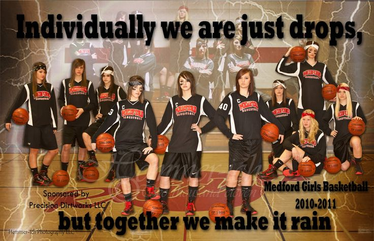 Sports Team Photography Ideas | Connie Hemmer Photo of the Day (POTD): Girls Basketball Poster