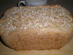 Pan de avena en panificadora