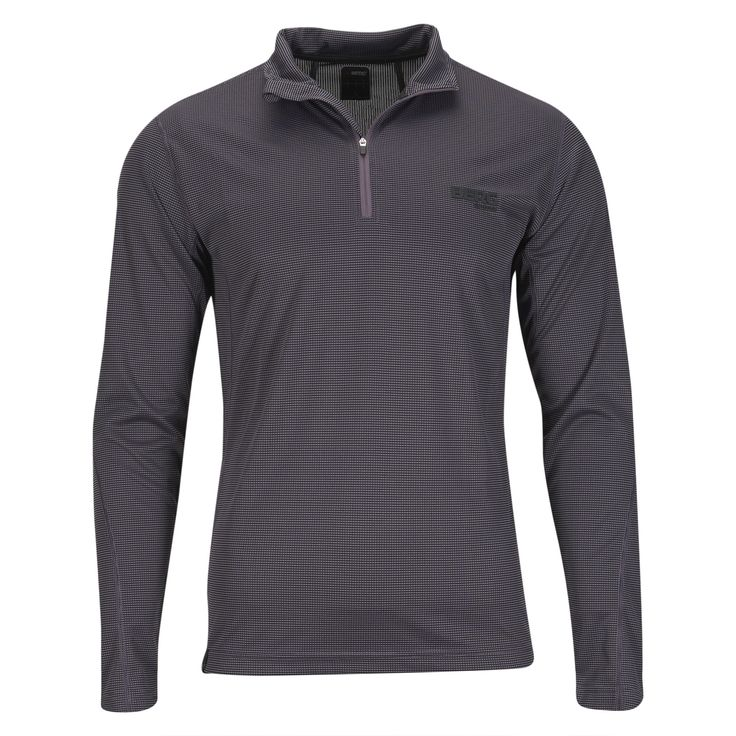 This ½ zip base-layer is ready to wick away moisture in any kind of high-heart-rate outdoor activities.