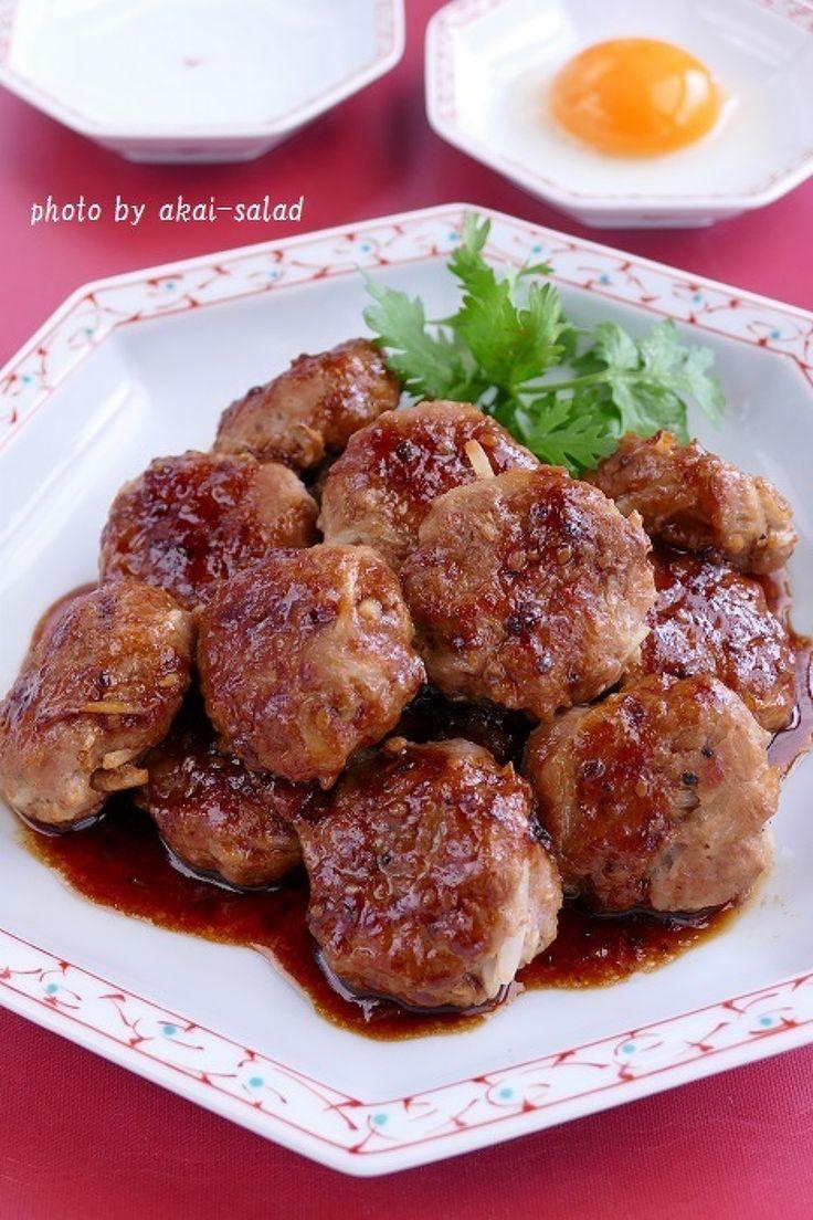 シャキシャキ新食感もやしの豚つくね by 長岡美津恵akai-salad | レシピサイト「Nadia | ナディア」プロの料理を無料で検索