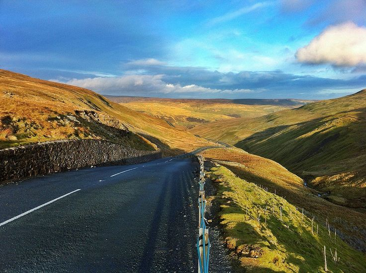 Buttertubs Pass, Wensleydale, Simonstone, England  Have driven this road many many times on holiday.