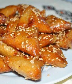 Briouates aux Amandes - Choumicha - Cuisine Marocaine Choumicha , Recettes marocaines de Choumicha - شهوات مع شميشة