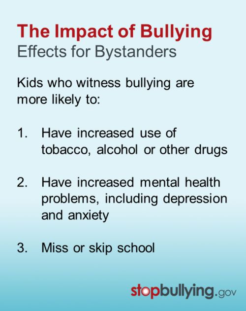 Effects of bullying in school essay