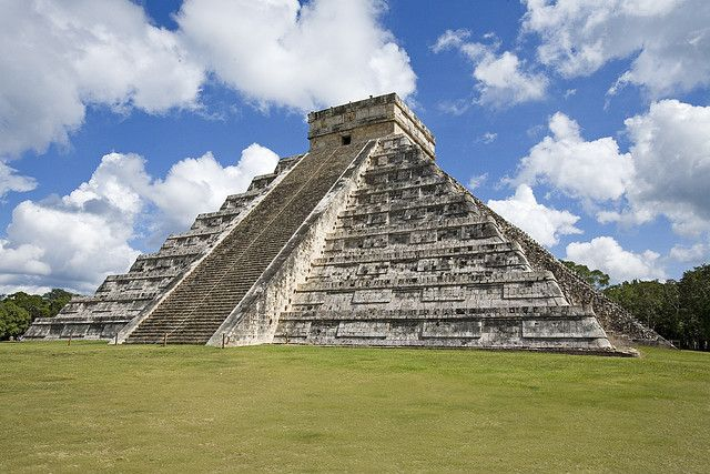 Chichen Itza is a large pre-Columbian archaeological site built by the Maya civilization located in the northern center of the Yucatán Peninsula, Mexico.