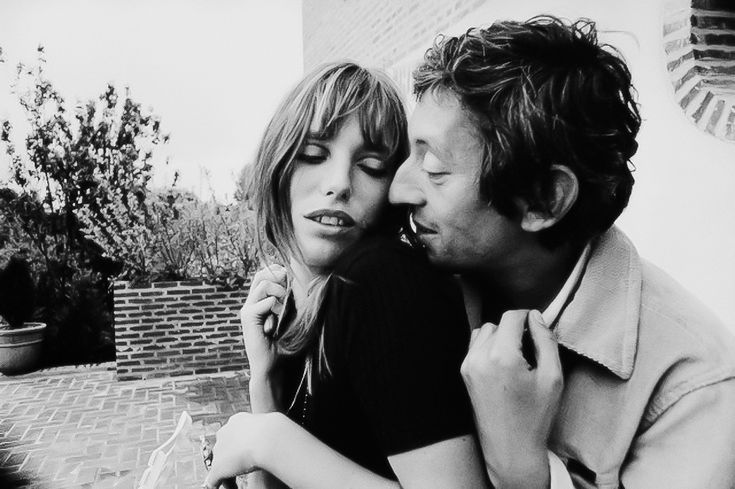 Serge Gainsbourg, with Jane Birkin, 1969, France, Tony Frank ©