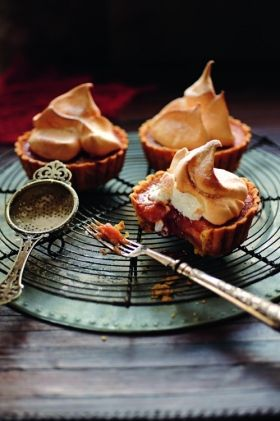 Blood orange meringue tarts| Food & Travel Magazine