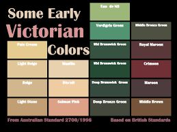 Image result for victorian colour schemes