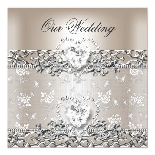 220 Best Diamond Wedding Invitations Images On Pinterest 40th