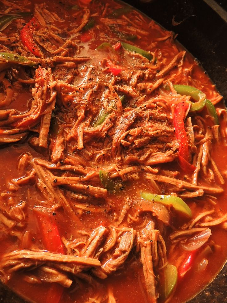Ropa vieja Cubana (Cuban Shredded beef) - The Petit Gourmet