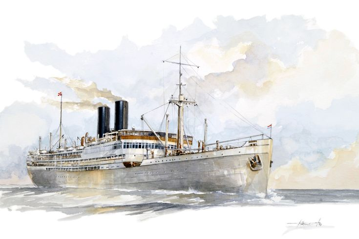 Slamat (1) 1924. In 1940 converted to a British troopship. Bombed and sank in 1941 in evacuation from Greece. Over 700 lives lost. RIP.