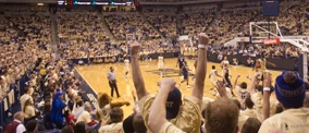 Peterson Event Center...home of the the Pittsburgh Panthers!
