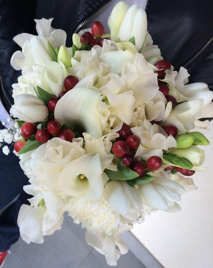 bouquet calle e bacche