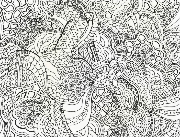 complex mandala coloring pages printable - photo#12