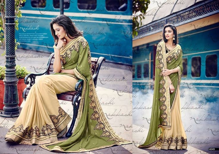Ethnic Indian Traditional Pakistani Sari Bollywood Designer Wedding Saree 2046 #KriyaCreation #SareeSari
