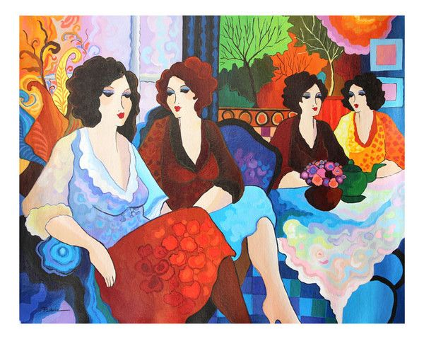 158 best Patricia Govezensky images on Pinterest Figurative art - new certificate of authenticity painting