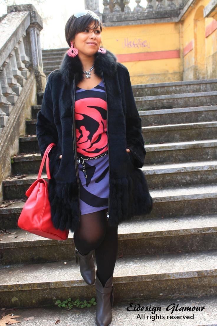 Veronica Cristina from Italy - dress item No. 962672, bag item No. 964436 on www.bonprix.it