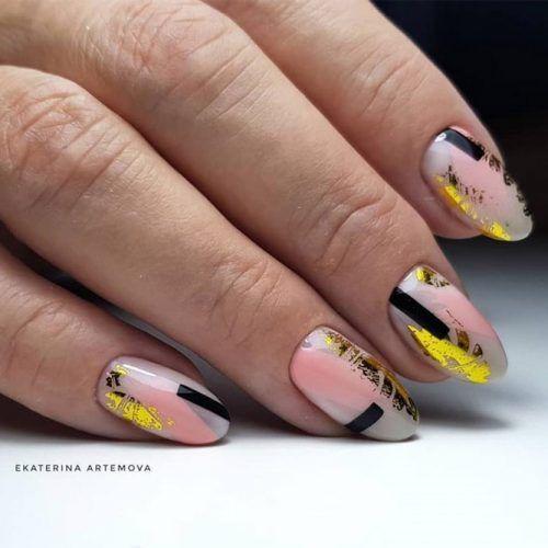 19+ FUN DESIGNS FOR OVAL NAILS Kostenlose Anleitungen und Anleitungen #designs #nails #ovalnail – Nails