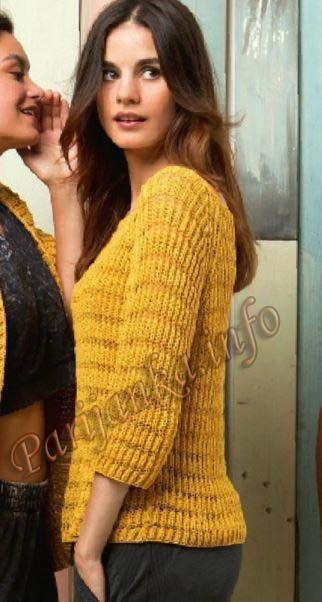 Пуловер с регланом (ж) 78*218 FAM №4877