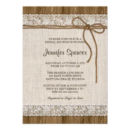 802 Best Bridal Shower Invitations Images On Pinterest