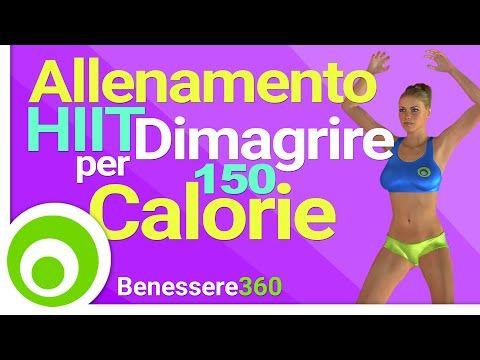 Allenamento HIIT in Piedi per Dimagrire - Brucia 150 Calorie in 13 Minuti - YouTube