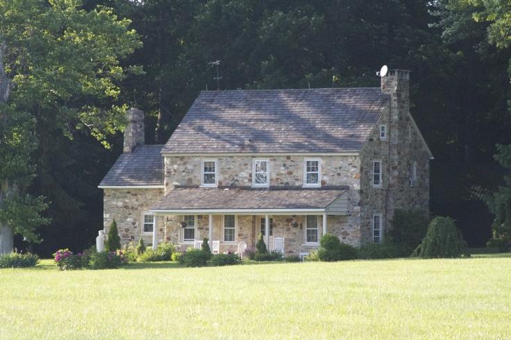 Unionville, PA stone house