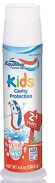 Aquafresh Kids Fluoride Toothpaste with Triple Protection Bubblemint  46 oz 1304 g >>> You can find more details by visiting the image link.