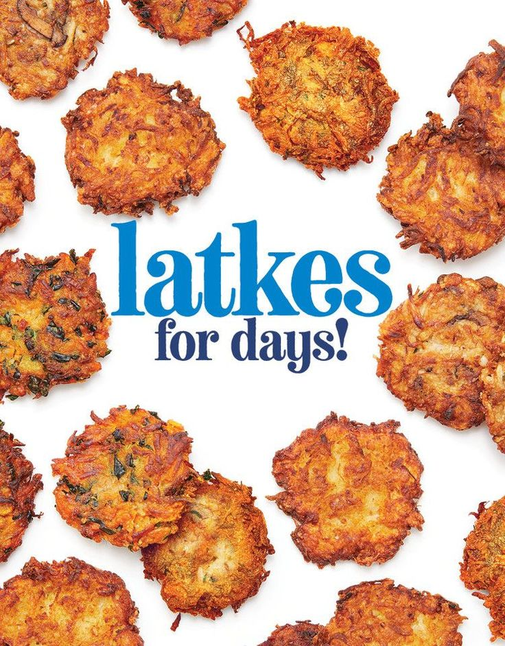 Make Latkes for Hanukkah—Traditional or With a Twist
