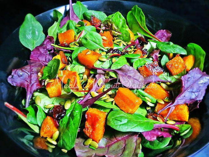 meals without squeals: Warm Pumpkin Salad
