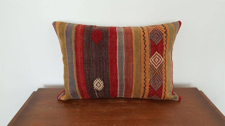 Pillow Cover Boho Decor Kilim Cushion