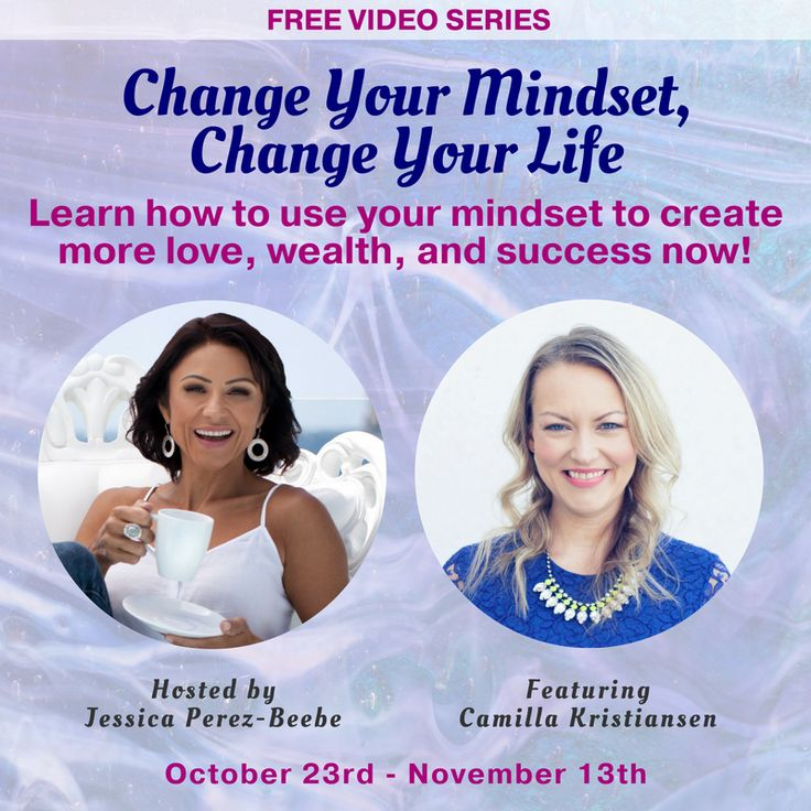 CHANGE YOUR MINDSET, CHANGE YOUR LIFE!  Do you know that you are the only person that create what you see in your life right now? You are. Take full responsibility today and start to shift your life the way you want it to go. Listen in on my interview I did with the fab Jessica Perez-Beebe and start to work on your own mindset. It's all in your mind. I need to work on myself on this too. I will never be done, neither will you. We need to keep shifting, unleashing to get closer to our passion…