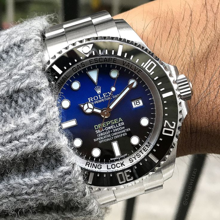 Going Deepsea with this Rolex gem. Who wants to go diving?  $11600 James Cameron Edition