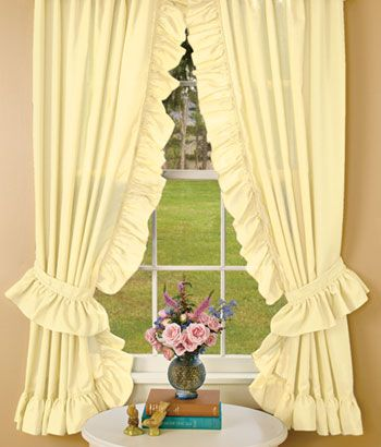 Priscilla Curtains Lace Curtains And Cotton Lace On Pinterest