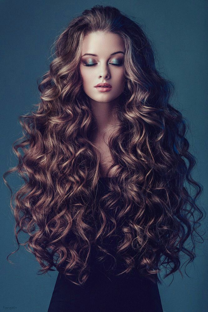 ideas about Long Curly Haircuts on Pinterest  Long Curly, Curly Hair