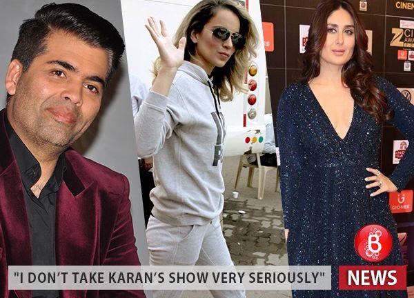 Kareena Kapoor Khan reacts to Kangana Ranaut accusing Karan Johar of nepotism