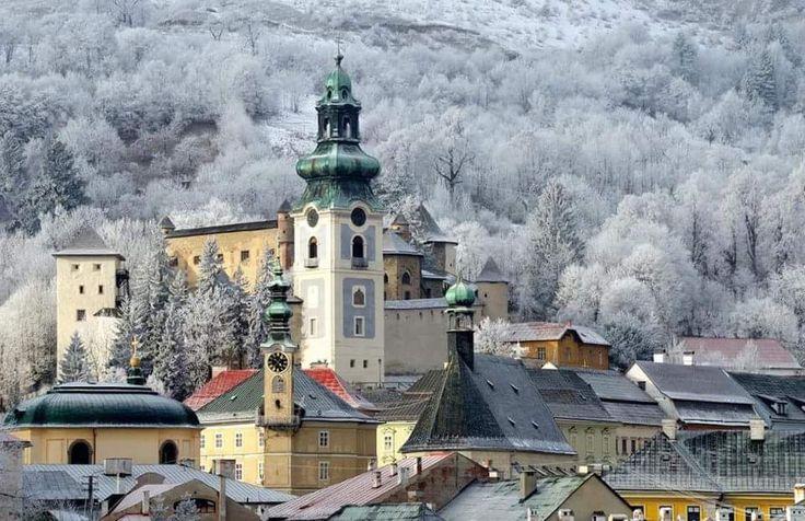 Travel Banska Stiavnica Europe Slovakia UNESCO