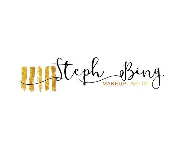 Brushes Branding Kit Makeup Custom Logo Design by LoveArtsStudio