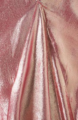 Shiny rose gold, perhaps skirts? | burro lane wedding | www.burrolane.com
