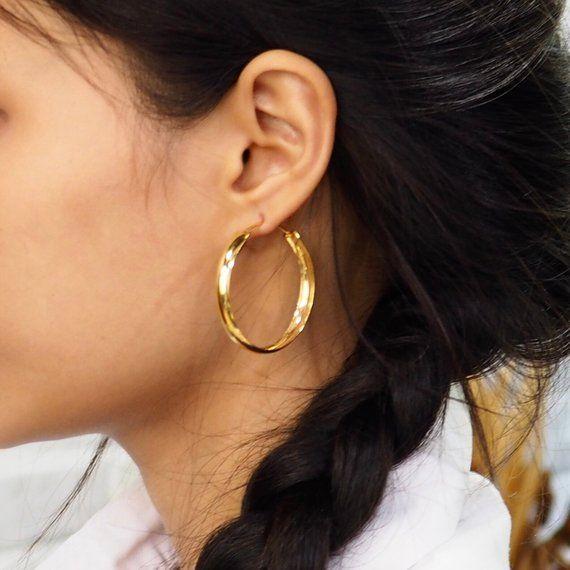 14K Quartz Earrings 925 Sterling Silver Earrings 14K White Gold Earrings Solid Gold Earrings Solid Gold Clear Quartz Earrings Bridal