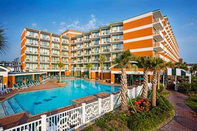 Virginia Beach....18 hour drive but way worth it! Holiday Inn & Suites North Beach Review - Family Vacation Critic