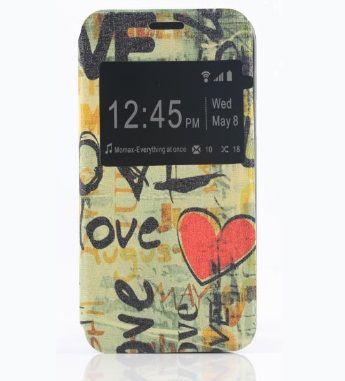 Case Stand Θήκη Flip Love (Samsung Galaxy S5 mini) - myThiki.gr - Θήκες Κινητών-Αξεσουάρ για Smartphones και Tablets - Graffiti Love Case - Galaxy S5 mini