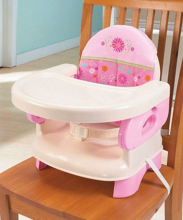 Loving this Pink Deluxe Comfort Folding Booster Seat on #zulily! #zulilyfinds