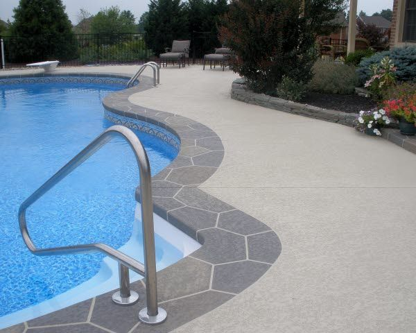 Best 25 concrete resurfacing ideas on pinterest how to resurface concrete diy concrete Diy resurfacing concrete swimming pool deck ideas