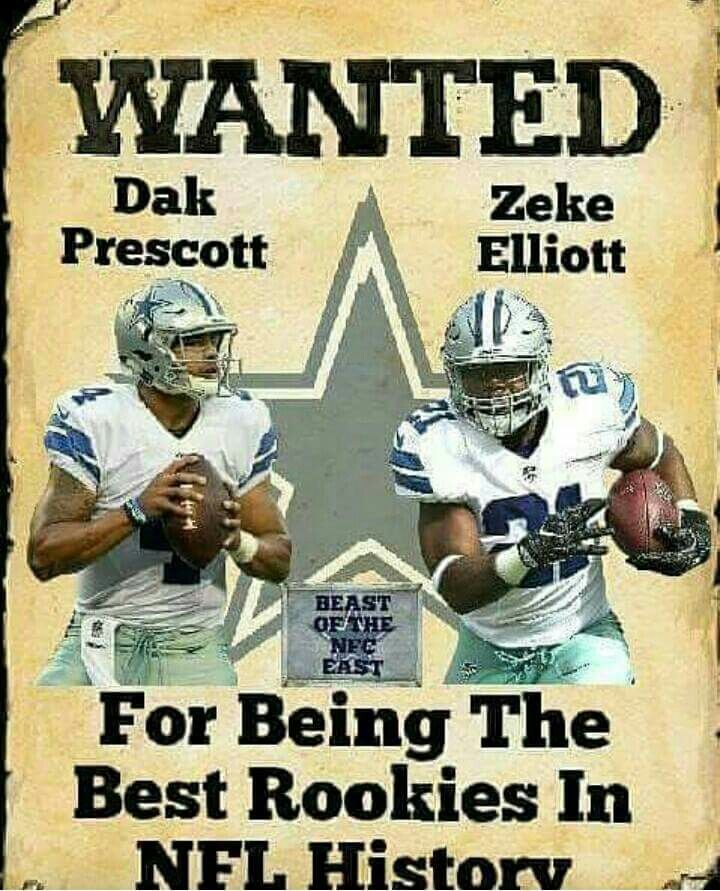 Dak Prescott And Zeke Elliott ⭐⭐⭐