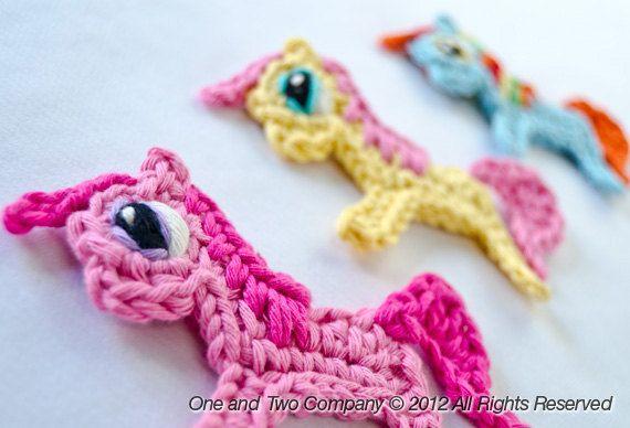 Instant Download  PDF Crochet Pattern  Pony por oneandtwocompany, $3.75